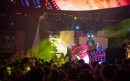 Deadmau5 at KAOS Nightclub - Kaos Nightclub