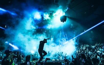 Skrillex at KAOS Nightclub - Kaos Nightclub